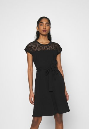 ONLBILLA DRESS - Jersey dress - black