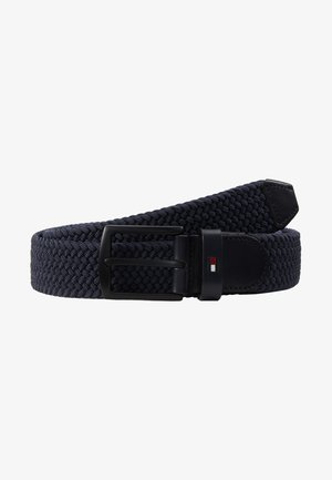 DENTON ELASTIC - Braided belt - blue