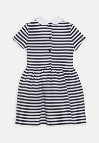 Polo Ralph Lauren - STRIPE DRESS - Denní šaty - navy/white - 1