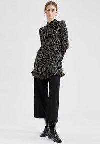 DeFacto - Button-down blouse - black - 1