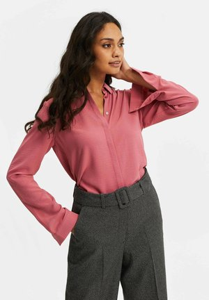 SOLID - Button-down blouse - old rose