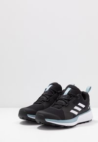 adidas Performance - TERREX TWO - Løbesko trail - core black/footwear white/ash grey - 2
