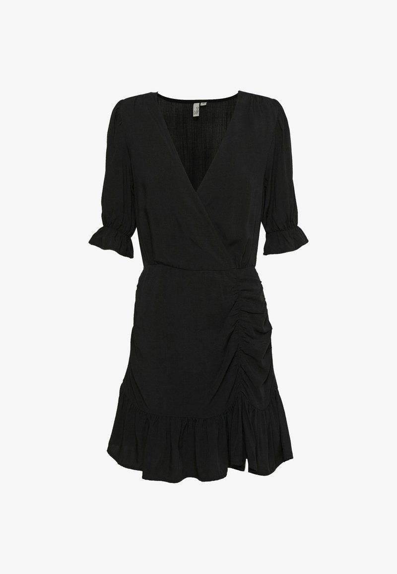 Nly by Nelly - FLIRTY RUCHED DRESS - Kjole - black