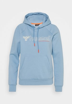 HMLNONI HOODIE - Sweatshirts - faded denim