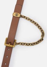 MICHAEL Michael Kors - CHAIN SWAG BELT - Belt - luggage/gold-coloured - 2