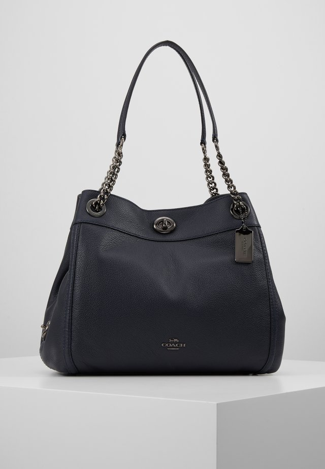 POLISHED TURNLOCK EDIE  - Borsa a mano - dark navy