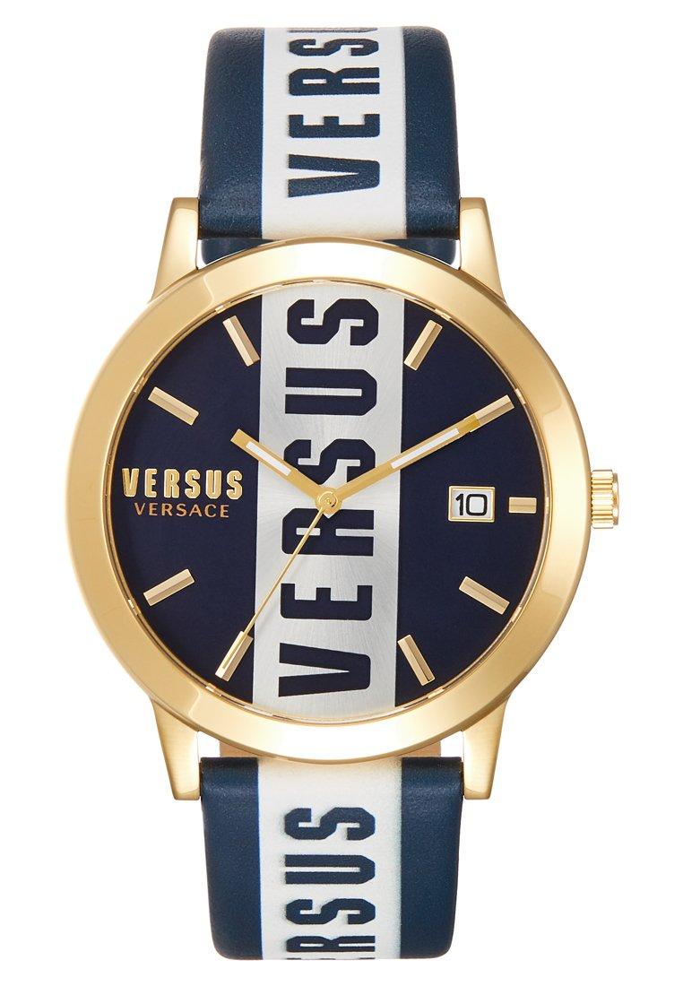 Versus Versace BARBES - Klokke - blue/gold-coloured/blå zwHhLuLzI2nrqOb