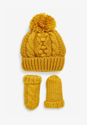 CABLE  SET - Gorro - yellow