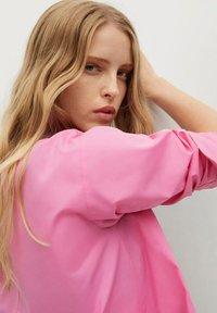 Mango - Button-down blouse - rose - 3