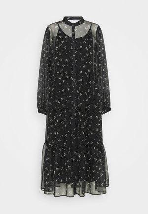 MIKUNA - Vestido camisero - black