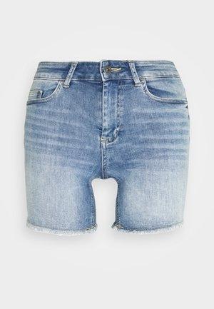 ONLBLUSH - Denim shorts - light blue denim