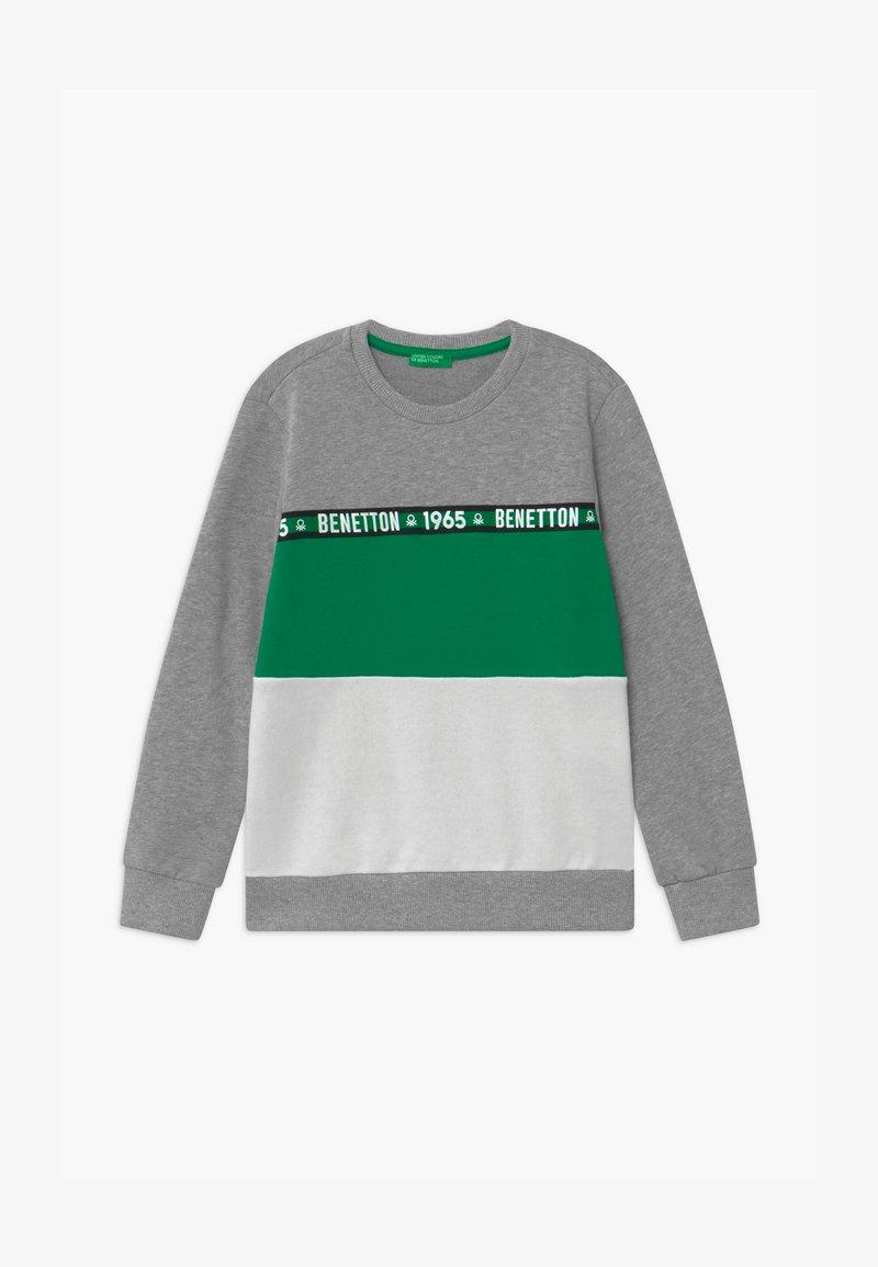 Benetton - BASIC BOY - Bluza - grey