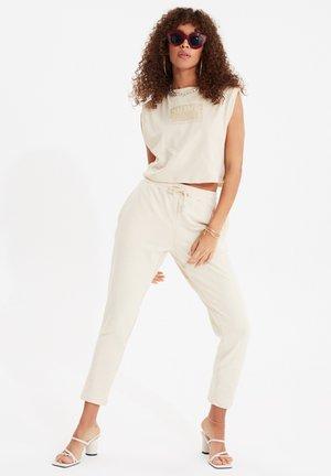 SET - Pantalon classique - beige