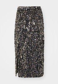 MANÉ - ZIA SKIRT - Pencil skirt - black/gold/silver-coloured - 0