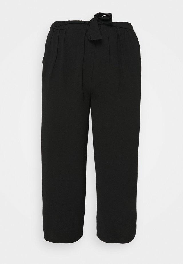 PCKELLIE CULOTTE - Kalhoty - black