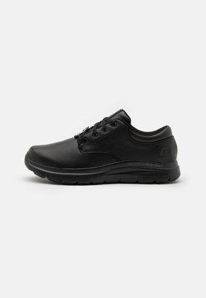FLEX ADVANTAGE SR FOURCHE - Volnočasové šněrovací boty - black