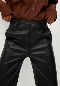 Mango - CAMILLA - Trousers - svart - 4