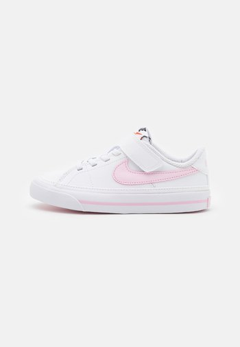 COURT LEGACY - Trainers - white/pink foam