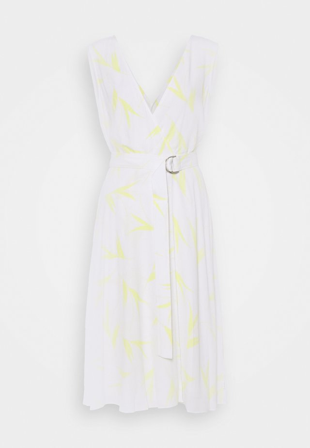 WRAP DRESS - Korte jurk - aurora/bright white