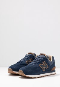 New Balance - Matalavartiset tennarit - navy - 2