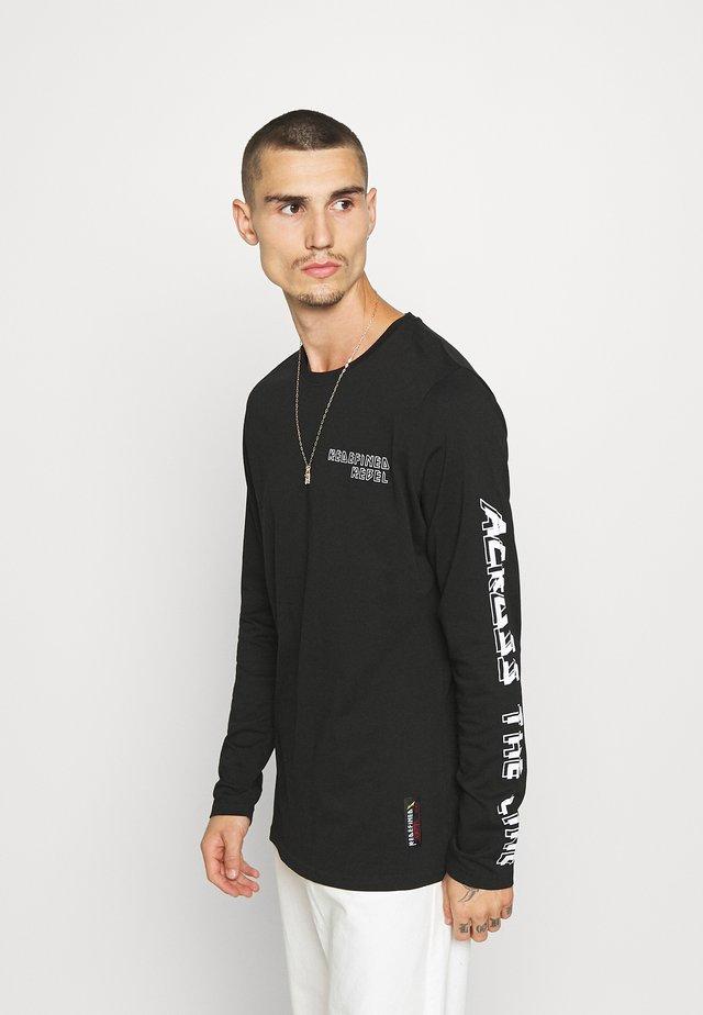 BEVIN TEE  - Camiseta de manga larga - black