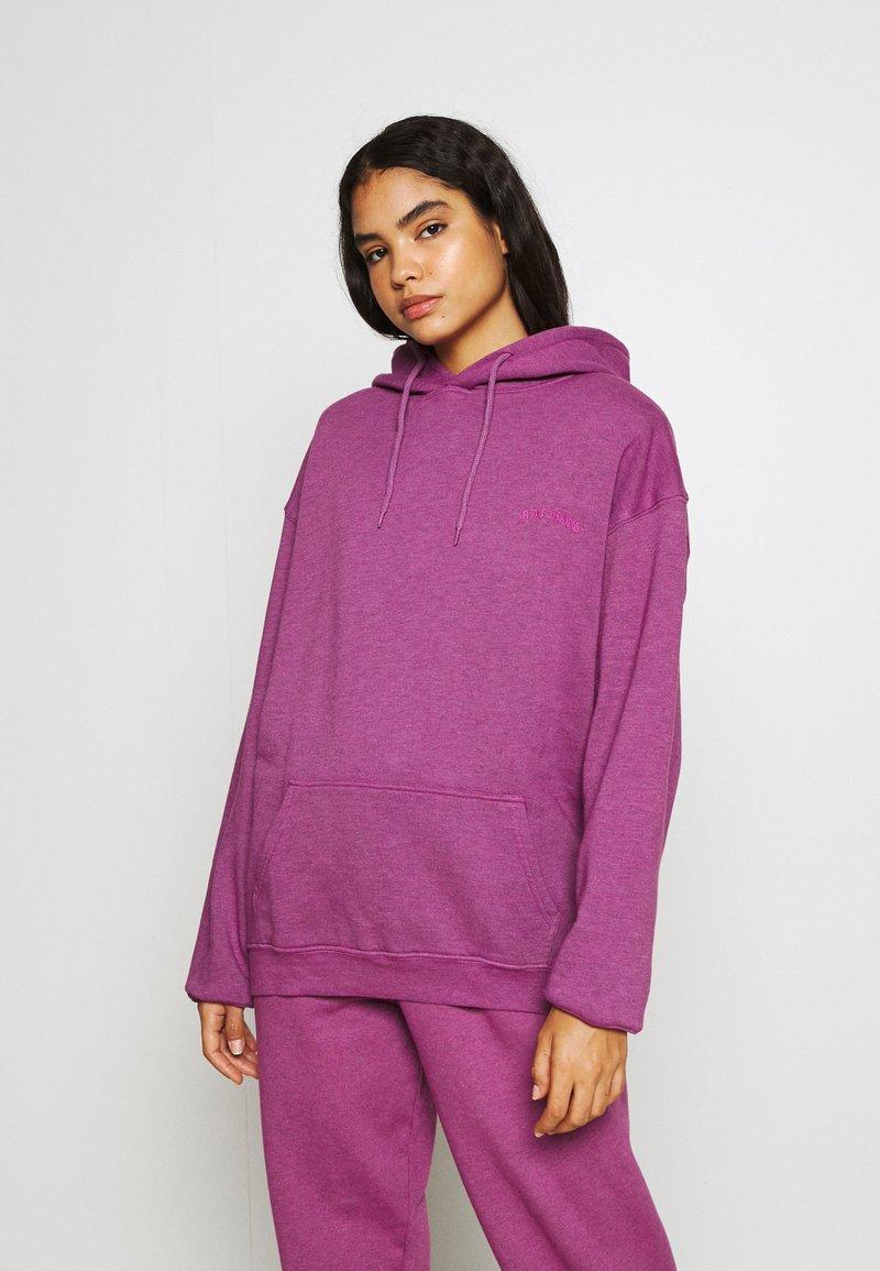 BDG Urban Outfitters - HOODIE - Sweater - damson magenta
