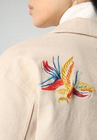 Napapijri - ALIE - Denim jacket - natural beige - 5