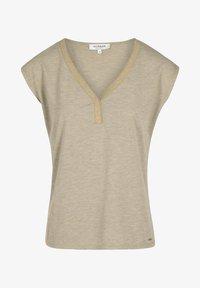 Morgan - Print T-shirt - dark brown - 4