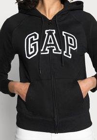 GAP - Bluza rozpinana - true black - 4