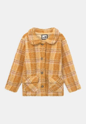 CLAUDIA CHECK - Short coat - honey gold