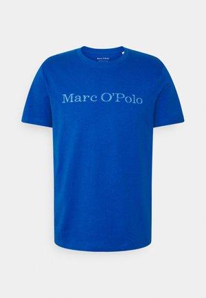 SHORT SLEEVE - T-shirt z nadrukiem - blue