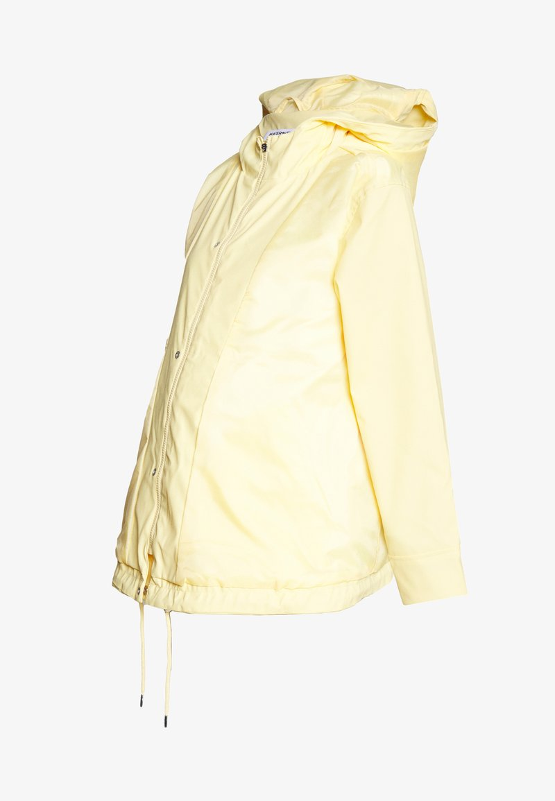 Dorothy Perkins Maternity - MATERNITY SHORT RAINCOAT - Impermeable - lemon