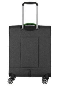 Travelite - MADEIRA - Wheeled suitcase - anthracite/green - 1