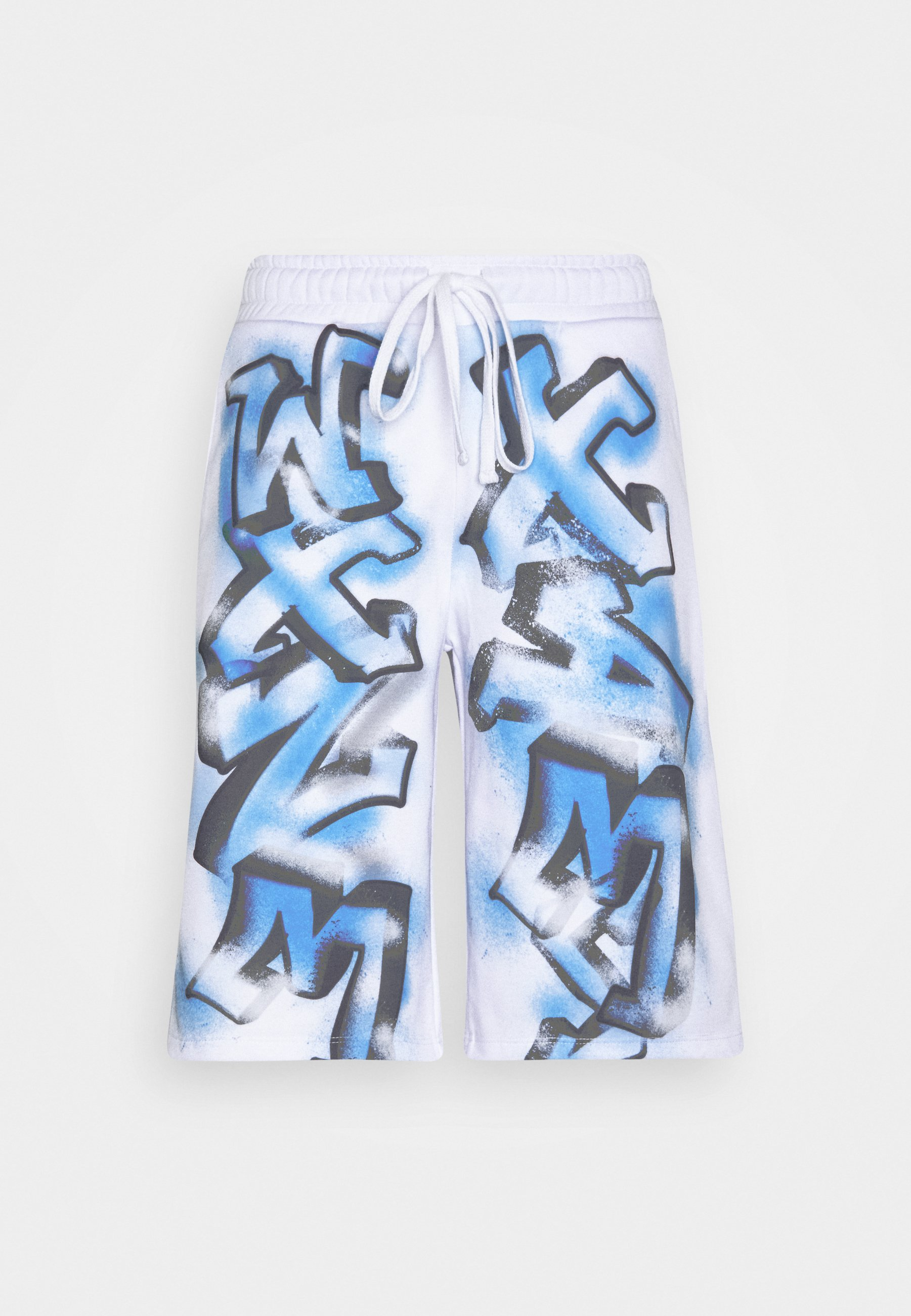 Jaded London Graffiti Tracksuit Bottoms White Zalando De