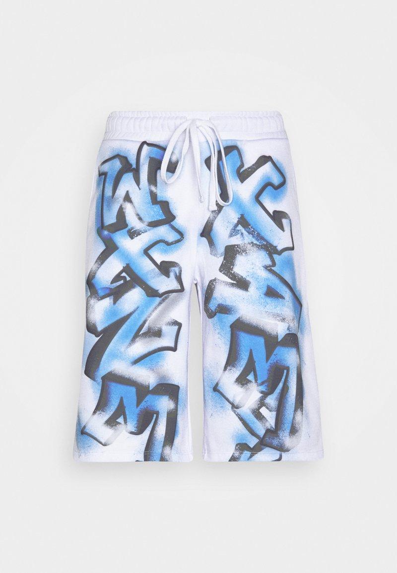 Jaded London - GRAFFITI - Pantaloni sportivi - white