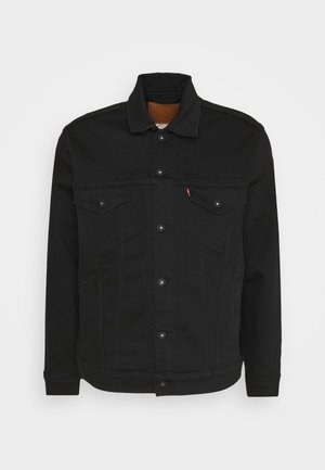 THE TRUCKER JACKET - Farkkutakki - blacks