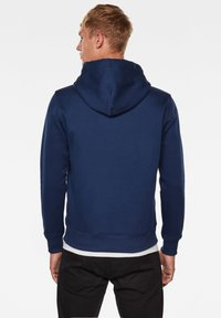G-Star - VARSITY FELT HOODED LONG SLEEVE - Hoodie - imperial blue - 1