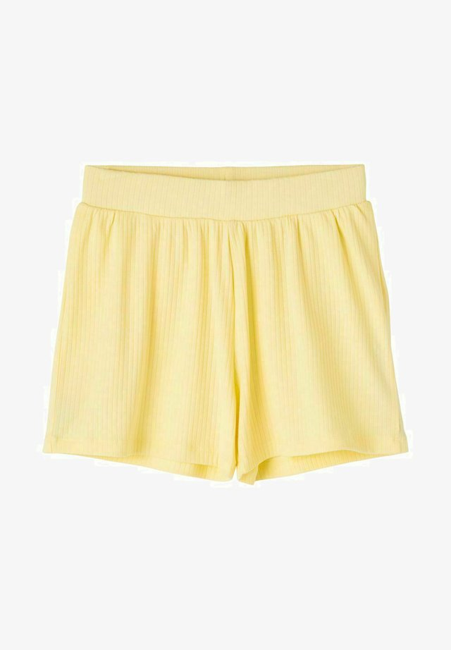LOOSE FIT  - Shorts - mellow yellow