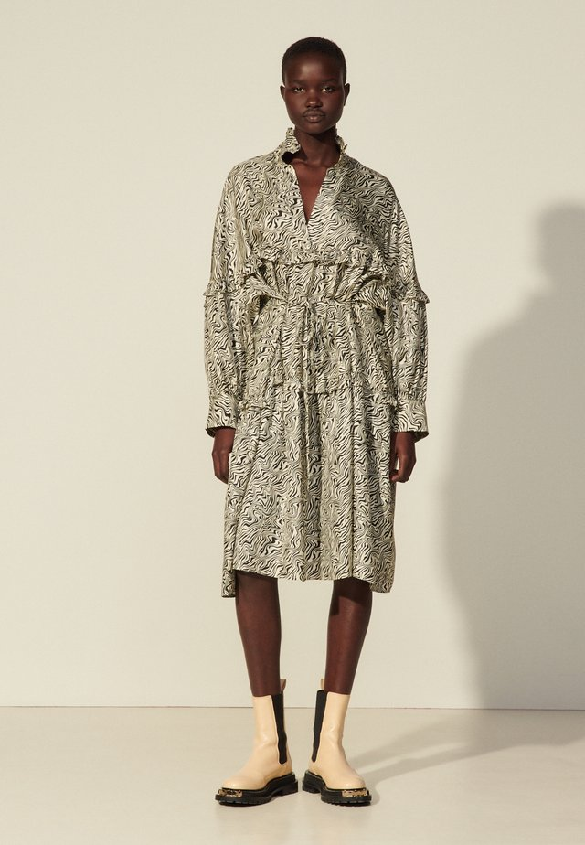 SALOME - Sukienka letnia - ivoire