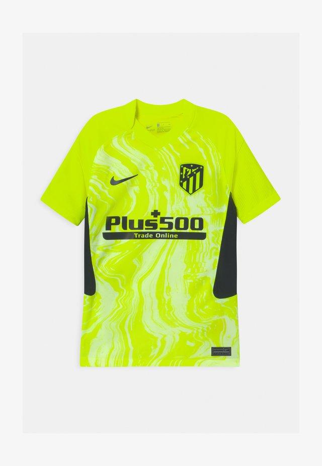 ATLETICO MADRID UNISEX - Klubové oblečení - volt/black