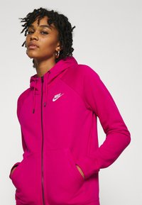 Nike Sportswear - Zip-up hoodie - fireberry/white - 3