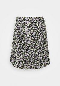 CINCH SKIRT - Mini skirt - black