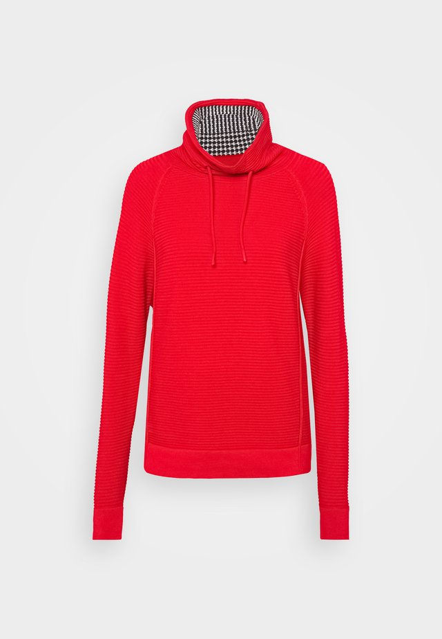 TUNNEL NECK - Pullover - red