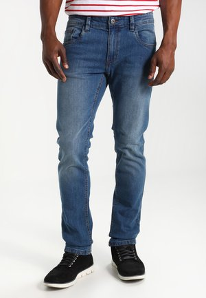 PITTSBURG - Slim fit jeans - medium indigo