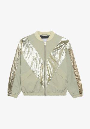 HELSA - Bomber Jacket - beige/gold
