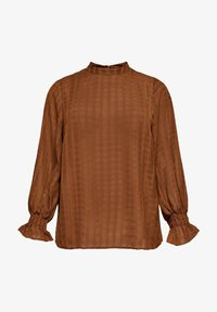 ONLY Carmakoma - Blouse - tobacco brown - 4