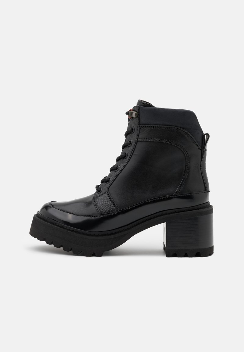 See by Chloé - Šněrovací kotníkové boty - black