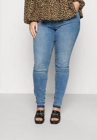 Zizzi - AMY - Jeans Skinny Fit - blue denim - 0