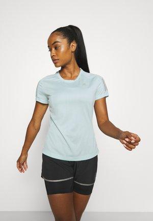 OWN THE RUN TEE - Print T-shirt - halo mint
