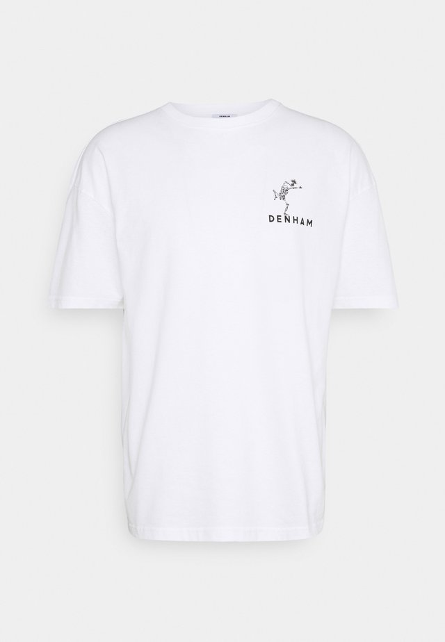 HARROW TEE - T-shirts print - white